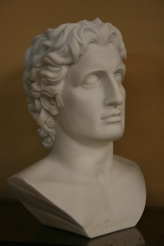 FABULOUS ALEXANDER THE GREAT SCULPTURE STATUE