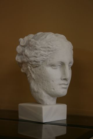 FABULOUS ANCIENT ROMAN FEMALE HEAD STATUE SCULPTURE