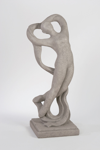 FABULOUS CONTEMPORARY JOYOUS DANCER SCULPTURE STATUE