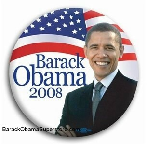 FAB BARACK OBAMA  PRESIDENTIAL COLLECTIBLE  BUTTON -7