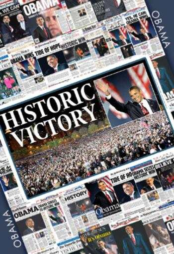 BARACK OBAMA'S – HISTORY MAKING VICTORY