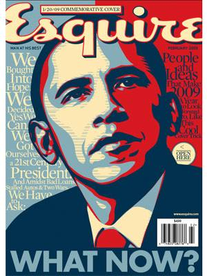 ESQUIRE MAGAZINE BARACK OBAMA COVER ISSUE 2009