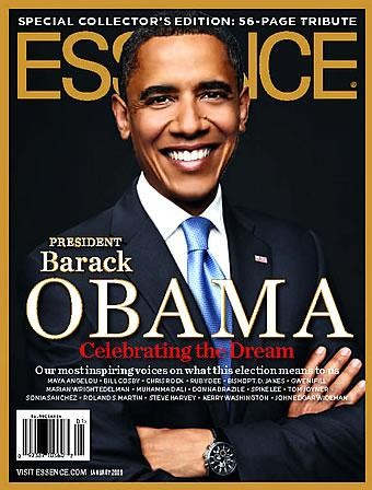 ESSENCE MAGAZINE SPECIAL COLLECTOR'S EDITION BARACK OBAMA COVER