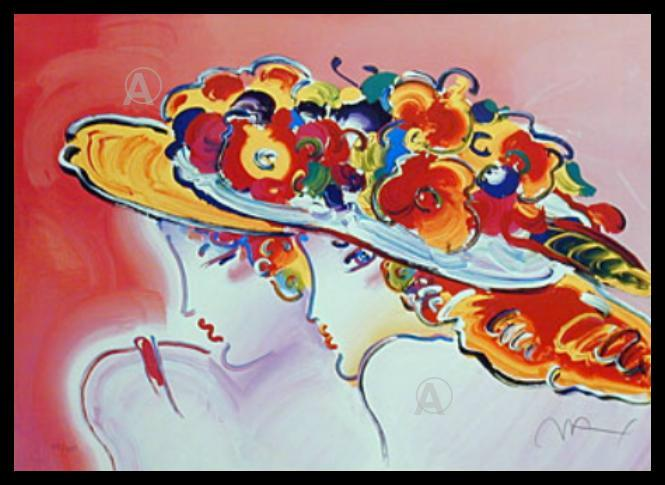 PETER MAX FRIENDS LITHOGRAPH