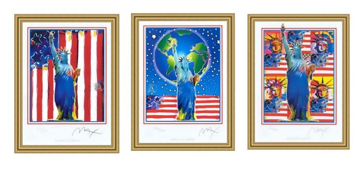 PETER MAX FABULOUS FAMOUS 911 COLLECTION SUITE HAND