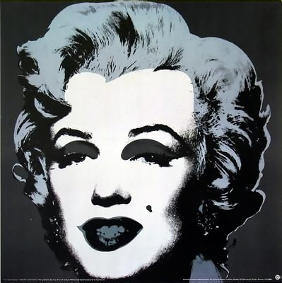 ANDY WARHOL, RARE OFFICIAL MARILYN MONROE PORTRAIT