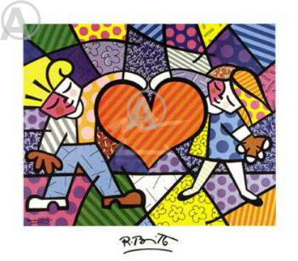 THE APPRENTICE FEATURED ARTIST BRITTO HEART KIDS PRINT