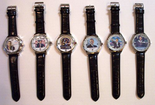 FABULOUS ELEGANT MODERN SLEEK BARACK OBAMA WRIST WATCH