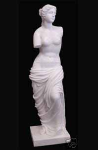 MAGNIFICENT PERFECT GREEK SENSUAL BEAUTY SCULPTURE STATUE